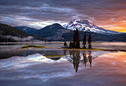 Peter Lik Posters - Where There Is Fire Poster by Aaron Reed