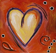 Karyn Robinson - Whimsical  Abstract Art - With All My Heart