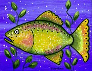 Sandra Estes - Whimsical Folk Art Fish