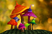 Liam Liberty - Whimsical Mushrooms
