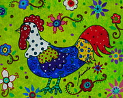 PRISTINE CARTERA TURKUS - WHIMSICAL ROOSTER