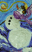 Paris Wyatt Llanso - Whimsical Snowman