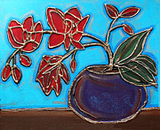 Cynthia Snyder - Whimsy Red Orchid