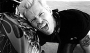 Billy Idol Art - Whiplash Smile by Kip Krause