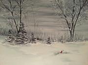 Whipple Lake Print by Valorie Cross
