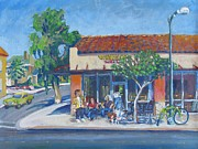 Suburban Paintings - Whirlows on the Miracle Mile by Vanessa Hadady BFA MA