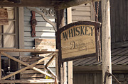 Bar Photo Originals - Whiskey sign by Tommy Hammarsten
