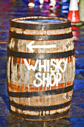 Quirky Framed Prints - Whisky Barrel Framed Print by Craig Brown