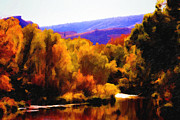 Big Thompson River Prints - Whisky River Take My Mind - Oil Print by Jon Burch Photography