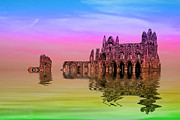 Dracula Digital Art - Whitby Abbey by Ian Jeffrey