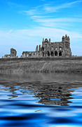 Dracula Digital Art - Whitby Abbey Isolation by Ian Jeffrey