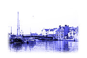 Jane Mcilroy Metal Prints - Whitby Harbor Metal Print by Jane McIlroy