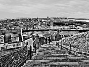 John Adams Prints - Whitby steps Print by John Adams