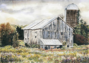 Marshall Bannister - White Barn 1
