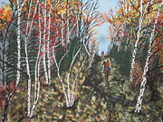Quite Originals - White Birch Trail Ride by Jeffrey Koss