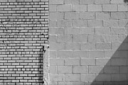Architecture - White Bricks by Robert Ullmann