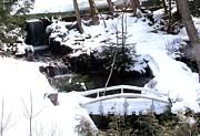 Gail Matthews - White Bridge over Peaceful falls