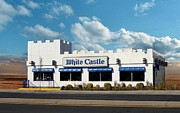White Castle Print by Bruce Lennon