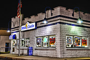 Hamburgers Art - White Castle by Paul Ward