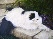 Irina Cumberland - White cat