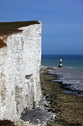 Chalk Cliffs Art - White cliffs of England by James Brunker