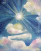 Suzanne  Marie Leclair - White Clouds and Sun
