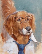 Ceo Originals - White Collar Golden Retriever by Viktoria K Majestic
