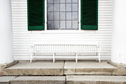 Brooke Ryan - White Colonial Bench and...