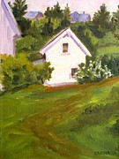 Colleen Kidder - White Cottage 