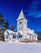 Nick Zelinsky - White Country Church Winter