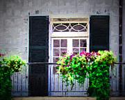 Perry Webster - White Door  Balcony