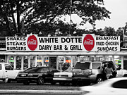 New Generations Posters - White Dotte Poster by Gallery Three