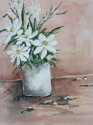 Stephanie Sodel - White Flowers