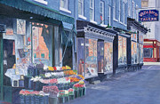 City Scenes Paintings - White Horse Tavern Hudson Street West Village by Anthony Butera