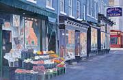 White Horse Tavern Hudson Street West Village Print by Anthony Butera