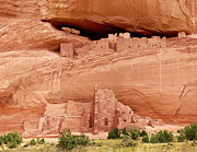 Kazakhstan Digital Art - White House Ruins Canyon de Chelly by Nadine and Bob Johnston
