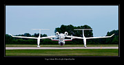 Jets Photo Metal Prints - White Knight Metal Print by Adam Romanowicz