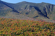 New England Fall Photos Prints - White Mountains Autumn Scenery  Print by Juergen Roth