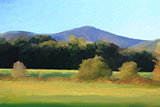 Impressionistic Landscape Paintings - White Mountains Conway New Hampshire by Trevor Slauenwhite