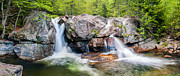 Ethereal Water Prints - White Mountains Majesty - Ellis River Cascades Print by Thomas Schoeller