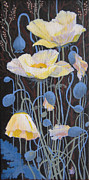 Marina Gnetetsky - White Poppies