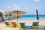 Fototrav Print - White sand beach on Koh Samet Thailand