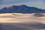 Southwest Art - White Sands Dawn by Sandra Bronstein