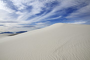 Slide Posters - White Sands National Monument Big Dune Poster by Bob Christopher
