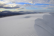 Slide Posters - White Sands New Mexico Poster by Bob Christopher