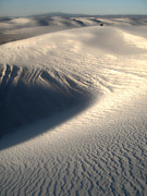 White Sands New Mexico Sand Dunes Print by Gregory Dyer