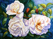 Karen Mattson - White Teas Rose Tree