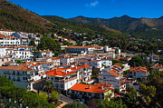 Red Roofs Photos - White Village of Spain Mijas by Jenny Rainbow