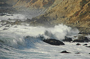 Waves Splash Photos - White Water by Donna Blackhall