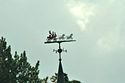 Weathervane Photos - Whiteface Mt Weathervane by Wayne Sheeler